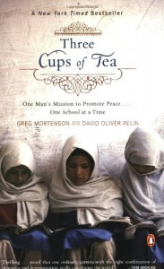 Three Cups of Tea, book cover