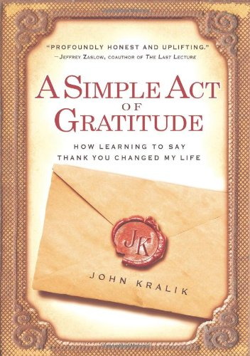 Simple Act of Gratitude, book cover