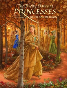 The Twelve Dancing Princesses, book cover