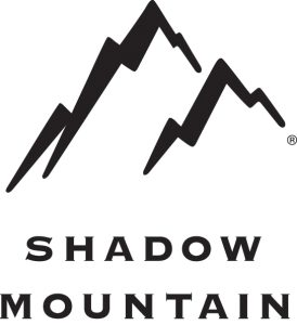Shadow Mountain logo, sponsors of library giveaway