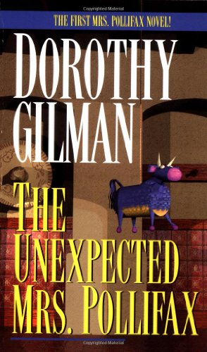 The Unexpected Mrs. Pollifax, Book Cover