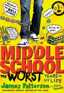 Middle School, the Worst Years of My Life, Book Cover