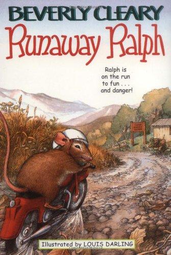 Runaway Ralph, Book Cover