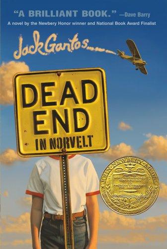 Dead End in Norvelt, Book Cover, 2012 Newbery Award Winner
