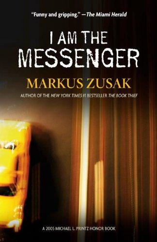 I am the Messenger, Book Cover