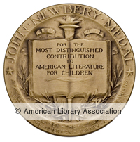 Newbery Winner Seal