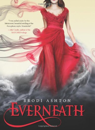 Everneath, Book Cover