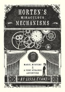 Horten's miraculous mechanisms, Book Cover