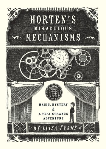 Horten's miraculous mechanisms, Book Cover