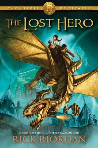 The Lost Hero, Book Cover