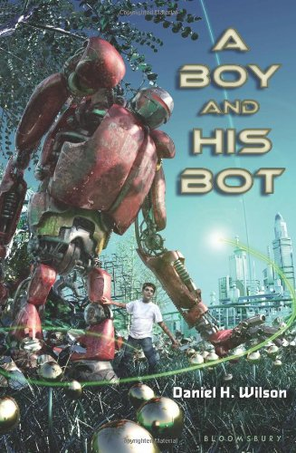 A Boy and His Bot, Book Cover