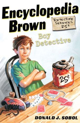 Encyclopedia Brown, Boy Detective, Book Cover