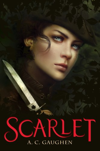 Scarlet, Book Cover
