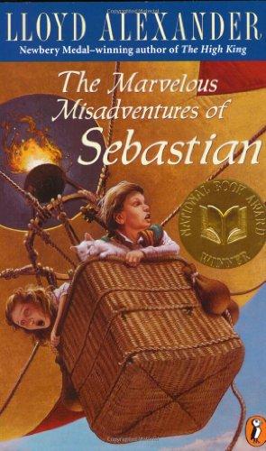The Marvelous Midsadventures of Sebastian, Book Cover