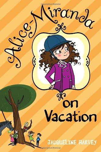 Alice Miranda on Vacation, Book Cover
