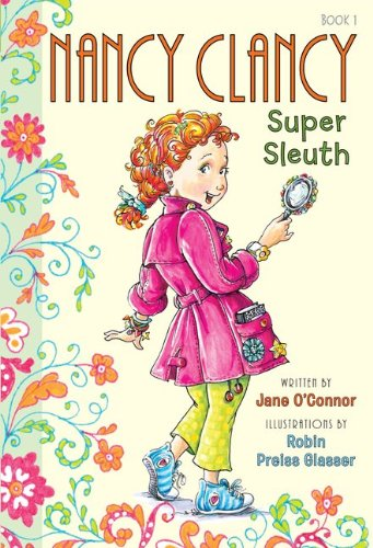 Nancy Clancy Super Sleuth, Book Cover