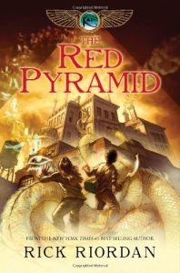 The Red Pyramid, Book Cover