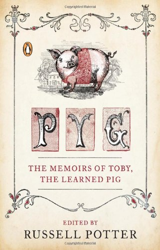 Pyg by Russell Potter, Book Cover