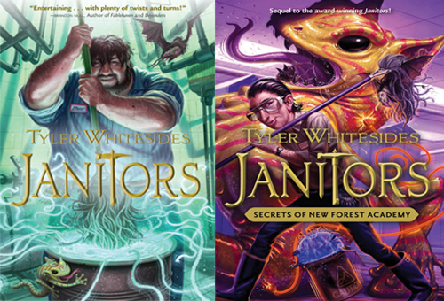 Janitors Giveaway - Book 1 and Book 2 Cover Images