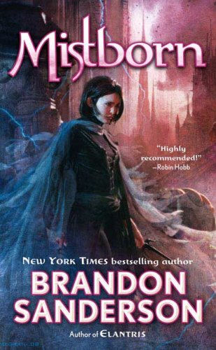 Mistborn, Book Cover