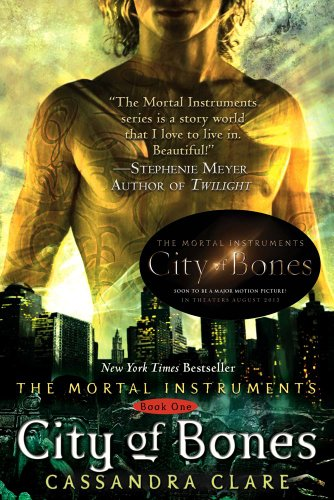 City of Bones, Book Cover