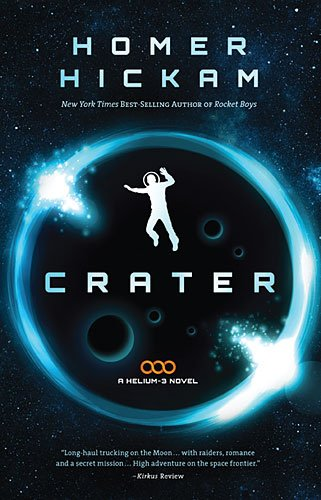 Crater, Book Cover