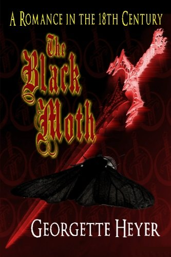 The Black Moth, Book Cover