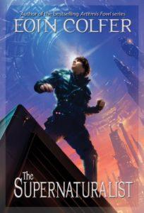The Supernaturalist, Book Cover