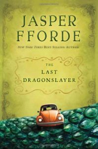 The Last Dragonslayer, Book Cover