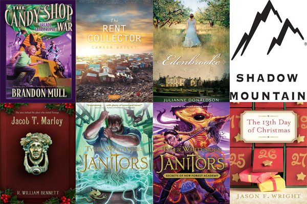 Shadow Mountain Publishing Prize Package Compass Book Ratings Library Giveaway 2013