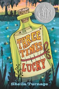 Three Times Lucky, Book Cover