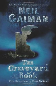The Graveyard Book, Book Cover