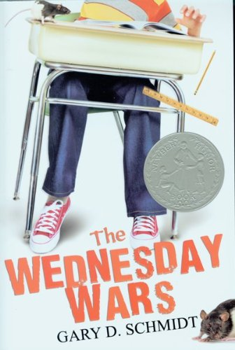 The Wednesdsay Wars, Book Cover