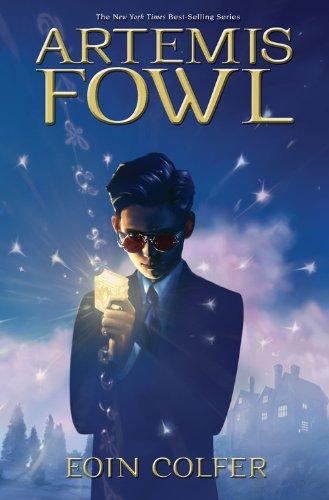 Artemis Fowl, Book Cover