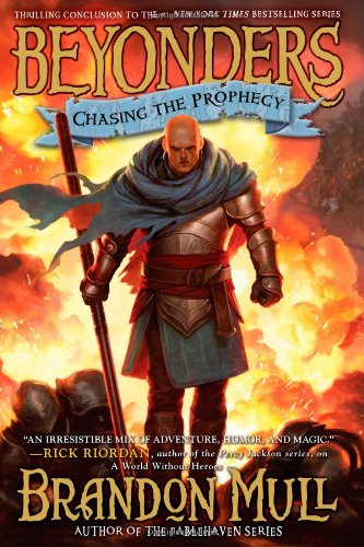 Chasing the Prophecy, Book Cover