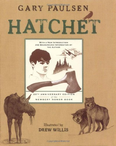 Hatchet, Book Cover