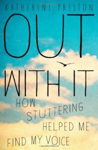 Out With It, Book Cover
