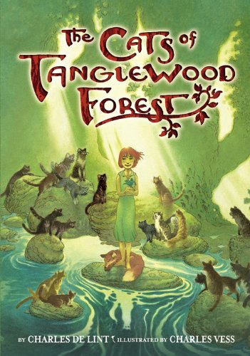 The Cats of Tanglewood Forest, Book Cover