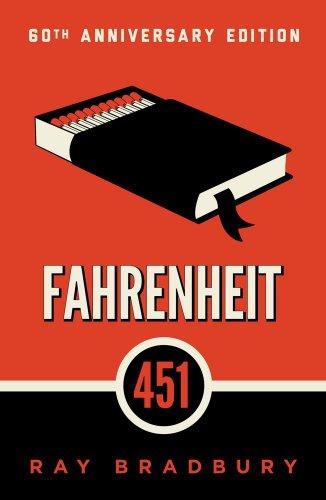 FFahrenheit 451, Book Cover