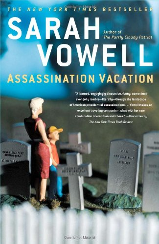 Assassination Vacation, Book Cover