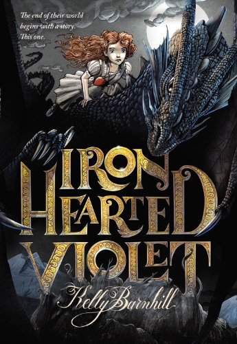 Iron Hearted Violet, Book Cover