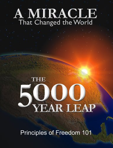 A Miralce that Changed the World: The 5000 Year Leap, Book Cover