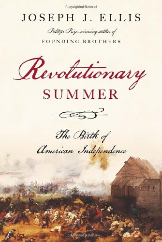 Revolutionary Summer, Book Cover