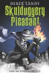 Skulduggery Pleasant, Book Cover