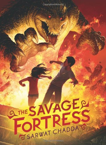 The Savage Fortress, Book Cover