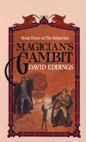 Magician's Gambit, Book Cover