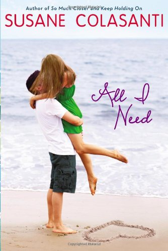 All I Need, Book Cover