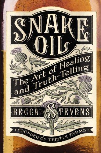 Snake Oil, Book Cover