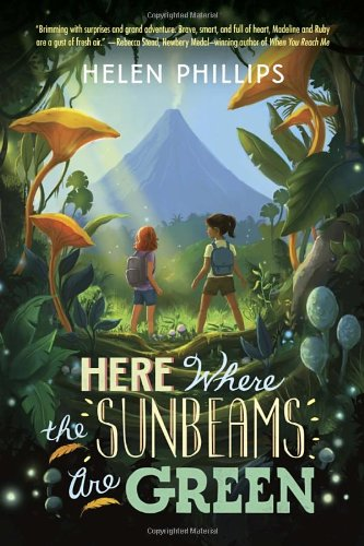 Here Where the Sunbeams Are Green, Book Cover