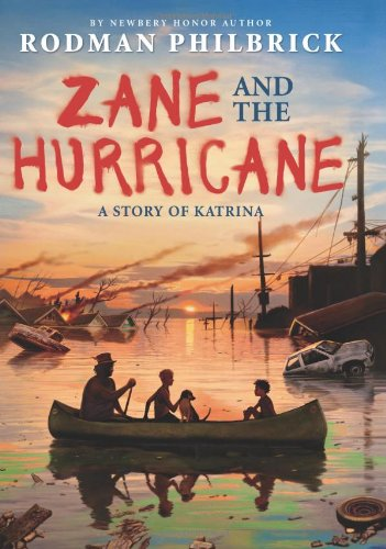 Zane and the Hurrican, Book Cover